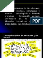 Unidad III Origen y Estructura de Los Minerales