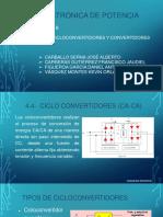 Equipo B Tema_ Cicloconvertidores y Convertidores CD-CD FINAL
