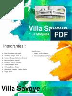 Villa Savoye Le Corbusier