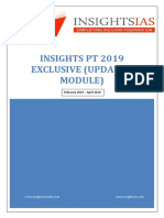 Insights PT 2019 Exclusive Updated Module
