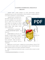 Anatomia si fiziologia Aparatului Digestiv