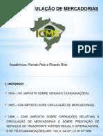 Icms – Circulação de Mercadorias