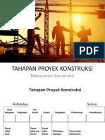 3.Tahapan Proyek Konstruksi