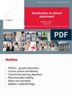 Introduction to Clinical Attachment