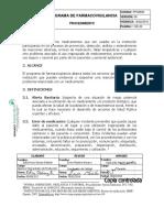 Pps0809 Programa de Farmacovigilancia
