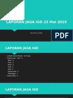 Laporan Jaga IGD 2
