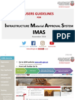 IMAS Users Guidelines