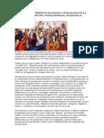 Rol de Los Movimientos Sociales y Ciudadanos en La Construcción de Una Ciudad Humana