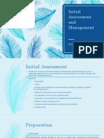 Initial Assessment and Management atls 10