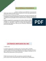 FORMULA POLINOOMICA