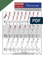 Tabela de Digitação do SAX