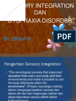 PPT Sensory Integration Dan Dyspraxia