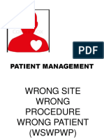 Patient Management