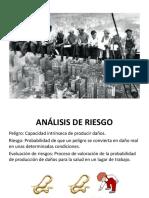 (1) Presentación Análisis de Riesgo