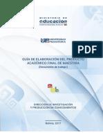 Documento Guia Maestria Oficial 2017