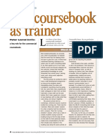the coursebook as trainer et prof  1