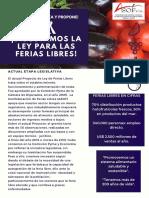 Volante Ley Ferias Libres 28-05-2019