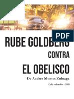 Rube Goldberg contra el obelisco
