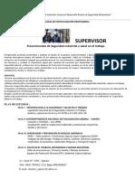 Diplomado de Supervisor Prev. de Seg, y Salud Enel Trab.