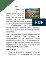 Conflictos Sociales Del Perú