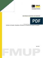 Analise de Gesto Equidade e Eficiência No Sistema de Saude Português