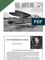 The Vintage Airplane Vol 1 No 3 Feb 1973