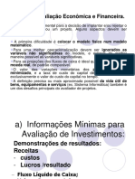 8 Análise Econômica e Financeira de investimentos e de Projetos.ppt