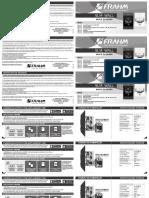 Manual Slim Wall 2017 CD 52845 Curvas