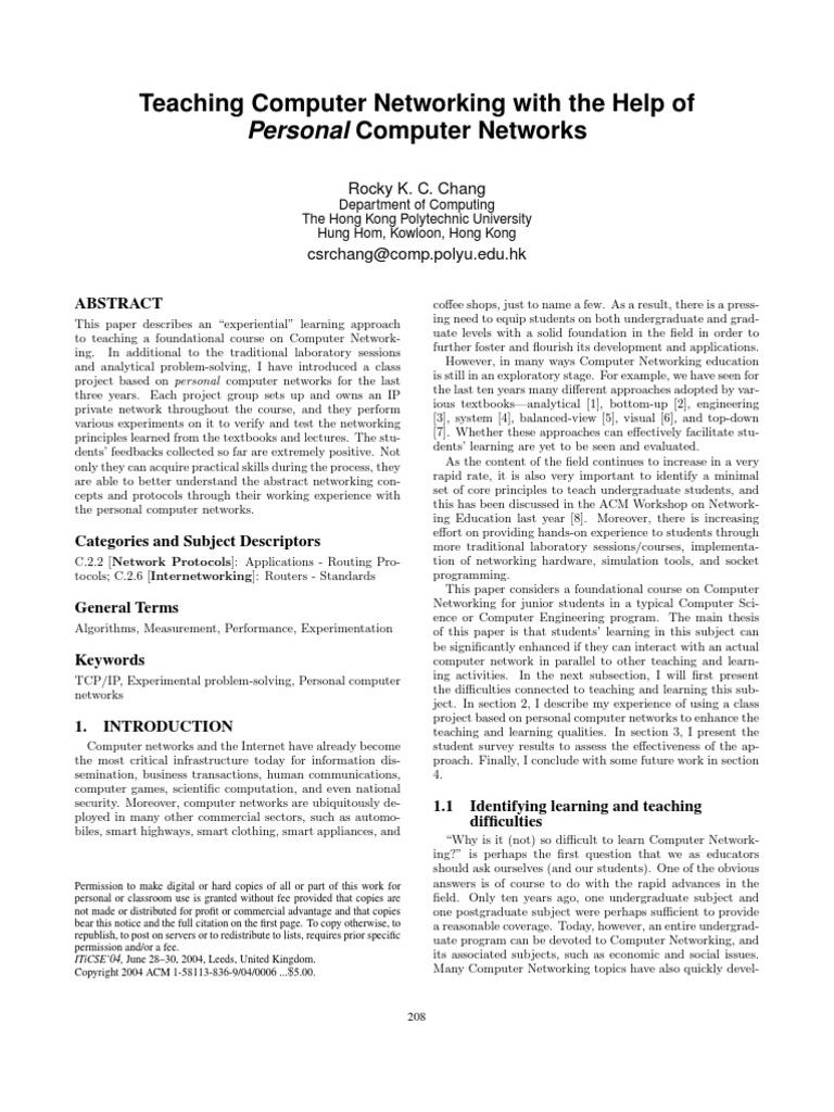 personalCN | Computer Network | Ip Address