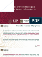 Universidades para el Bienestar Benito Juárez García
