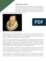 Biografia de Miguel de Cervantes