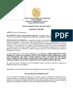 Sentencia Exp SC-2019-0001 TSJ en el exilio solicita abrir investigación en contra de Tarek William Saab y Jorge Arreaza