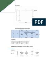 Tugas Analisa Struktur Matrik-Metode Kekakuan Langsung