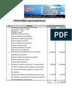 Proforma Autolavado Express Ecuador
