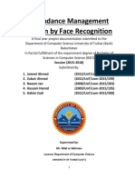 Attendace Management System by (Zubair Ahmed, Jameel Ahmed, Hassam Hamid, Naeem Jan, And Hakim Zadi)