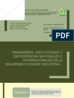 1.4 Org. Nacionales e Internacionales.