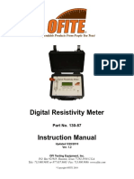 Digital Resistivity Meter