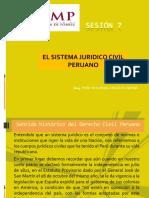 Sesion 7 Sistema Jurid. Civil Peruano