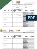 Formato Para Informe Pormenorizado de Cuotas Voluntarias