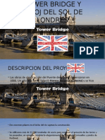 Tower Bridge y Reloj Del Sol de Londres