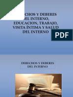 Derechos y Deberes Del Interno Ejecucion Penal