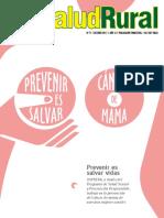 SaludRural Octubre 2017 - Cancer de Mama