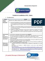 Discapacidad e Integración Producto Académico N°1