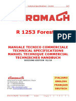 _A Spider Excavator R1253 Bigfoot Forester Manuale Tecnico