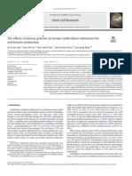 Los Efectos de La Gelsolina Plasmática en La Maduración de Eritroblastos Humanos Para La Producción de Eritrocitos PDF
