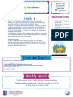 weekly newsletter may 288