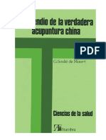 SOULI+ë DE MORANT, GEORGE - Compendio de la Verdadera Acupuntura China