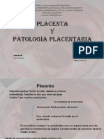 Placenta y Patologia Placentariax