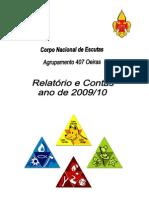 Relatório e Contas 2009-2010