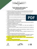 Logros Lengua Castellana Basica Primaria 2012 2013 (1)